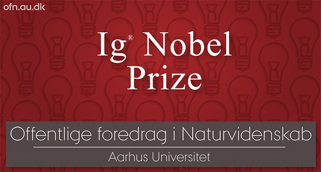 Foredrag: Ig Nobel Prize: first laugh, then think - 2020
